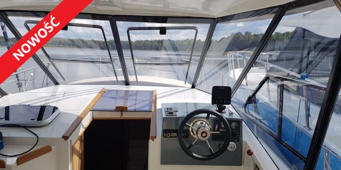 motorowy Houseboat Futura 900  SECRET LINE